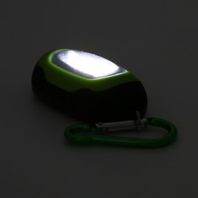 TaffLED Senter LED Mini COB 25 Lumens dengan Karabiner - BM-9402 - Blue - 4
