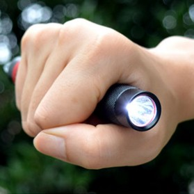 TaffLED Senter LED Tactical Pen XPE Q5 1000 Lumens - BK02 - Black - 2