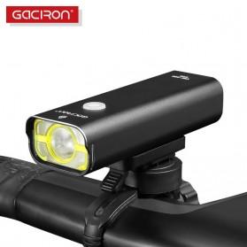 GACIRON Lampu Sepeda LED Cree XPG 400 Lumens - V9C - Black - 2