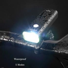 GACIRON Lampu Sepeda LED Cree XPG 400 Lumens - V9C - Black - 5