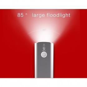 GACIRON Lampu Sepeda LED Cree XPG 400 Lumens - V9C - Black - 8