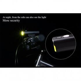 GACIRON Lampu Sepeda LED Cree XPG 400 Lumens - V9C - Black - 11