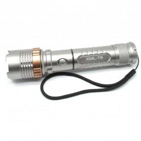 TaffLED Stick Baton Senter LED Tactical Cree XM-L T6 1000 Lumens - X900 - Gray