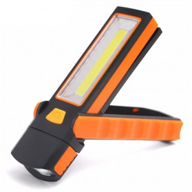 TaffLED Senter LED Camping Magnetic COB 600 Lumens - CB600 - Orange