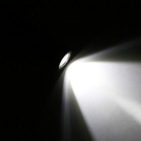 TaffLED Senter LED XPE + COB Outdoor Flashlight 800 Lumens - C02 - Black - 8