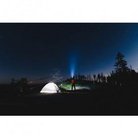 TaffLED Senter LED XPE + COB Outdoor Flashlight 800 Lumens - C02 - Black - 11