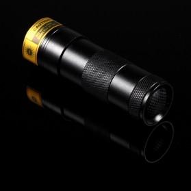 TaffLED Senter Ultraviolet  400nm 12 LED - UV-12 - Black - 6