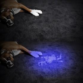 TaffLED Senter Ultraviolet  400nm 12 LED - UV-12 - Black - 10