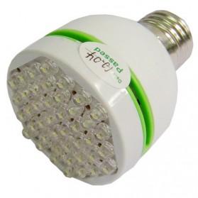 Screw Lamp Light Bulb Spotlight 3W 42 LED - White