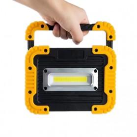 Senter LED Lantera Camping COB 750 Lumens 10W with Power Bank 4400mAh - Orange