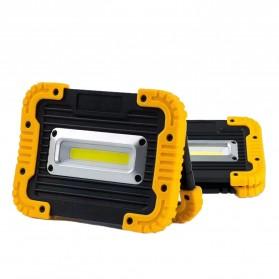TaffLED Senter LED Lantera Camping COB 750 Lumens 10W + Powerbank 4400mAh - Ll 811 - Orange - 2