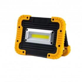 TaffLED Senter LED Lantera Camping COB 750 Lumens 10W + Powerbank 4400mAh - Ll 811 - Orange - 3