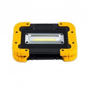 TaffLED Senter LED Lantera Camping COB 750 Lumens 10W + Powerbank 4400mAh - Ll 811 - Orange - 4