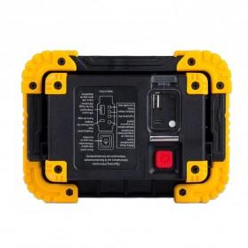 TaffLED Senter LED Lantera Camping COB 750 Lumens 10W + Powerbank 4400mAh - Ll 811 - Orange - 5