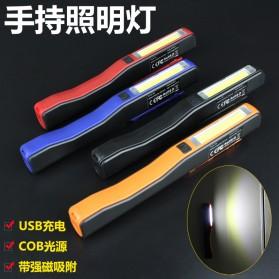 TaffLED Senter Pena Mini LED 3W + 1W USB Rechargeable - BC11 - Black - 4