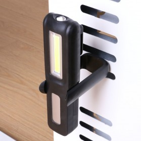 TaffLED Senter LED Camping USB Rechargerable Magnetic COB+XPE - ZM-LJ-145 - Black - 2