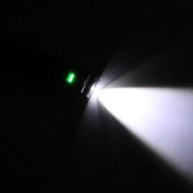 TaffLED Senter LED Camping USB Rechargerable Magnetic COB+XPE - ZM-LJ-145 - Black - 7