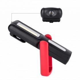 TaffLED Senter LED Camping USB Rechargerable Magnetic COB+XPE - ZM-LJ-145 - Black - 10