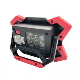 TaffLED Senter LED Lantera Camping COB 1200 Lumens 15W + Power Bank 6600mAh - ZF6006 - Red - 2