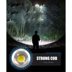 TaffLED Senter LED Lantera Camping COB 1200 Lumens 15W + Power Bank 6600mAh - ZF6006 - Red - 6