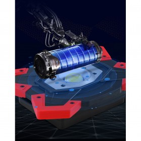TaffLED Senter LED Lantera Camping COB 1200 Lumens 15W + Power Bank 6600mAh - ZF6006 - Red - 7