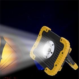 TaffLED Senter LED Lantera Camping COB 750 Lumens 10W + Powerbank 4400mAh - Ll 810 - Yellow - 3