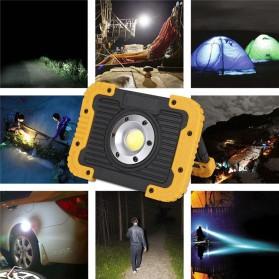 TaffLED Senter LED Lantera Camping COB 750 Lumens 10W + Powerbank 4400mAh - Ll 810 - Yellow - 5
