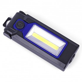 TaffLED Senter LED LR10 COB Camping Magnetic 3W - WY8101 - Black