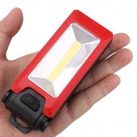 TaffLED Senter LED LR10 COB Camping Magnetic 3W - WY8101 - Black - 9
