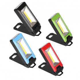 TaffLED Senter LED LR10 COB Camping Magnetic 3W - WY8101 - Multi-Color