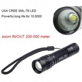 TaffLED Mini Telescopic Focus Cree XML-T6 3500 Lumens - TM120 - Black - 5