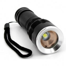 Senter LED Waterproof Telescopic Focus Cree XML-T6 3800 Lumens