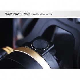 TaffLED  Senter Headlamp Cree XM-L 3T6 15000 Lumens - IHT425H1 - Black - 6