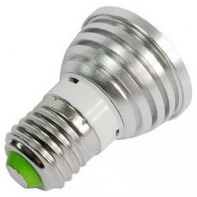 TaffLED Bohlam LED RGB + Remote Control - EH87 - Silver - 2