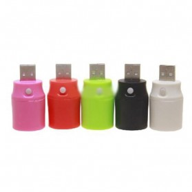 USB LED Flashlight for Power Bank - Black