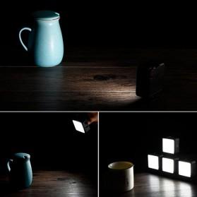 Ulanzi Fill Light LED Lampu Kamera Video Mini 6W 5500K 2000mAh Battery - VL49 - Black - 5