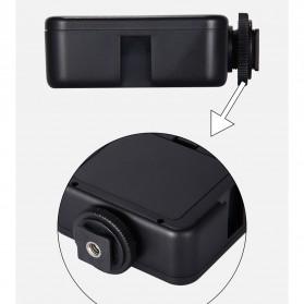 MAMEN Mini Fill Light Portable Lampu Kamera Video 81 LED Beads 6000K - W81 - Black - 7