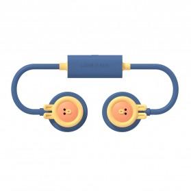 Aksesoris USB, Lamp, Fan / Cooling Pad - 3Life Kipas Angin Leher Portable Mini Hanging Cute Neck Fan USB - 364 - Blue