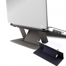 Yinkuu Stand Holder Laptop Lipat Foldable Bracket with Magnet - A4 - Black