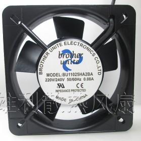 HONTARRL Kipas Heatsink CPU Fan 110mm 220V 0.09A - 11025 - Black