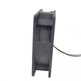 KunPeng Kipas Heatsink CPU Fan 120mm 220V 0.14A - 12038 - Black - 3