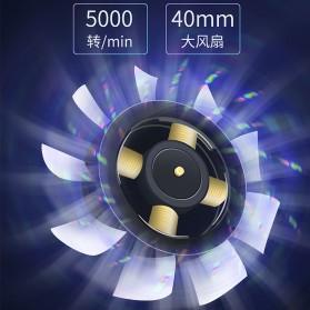 AMOI X1 Smartphone Cooling Fan Kipas Pendingin Radiator Heat Sink - Black - 4