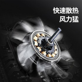 AMOI X1 Smartphone Cooling Fan Kipas Pendingin Radiator Heat Sink - Black - 6