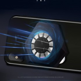 AMOI X1 Smartphone Cooling Fan Kipas Pendingin Radiator Heat Sink - Black - 7