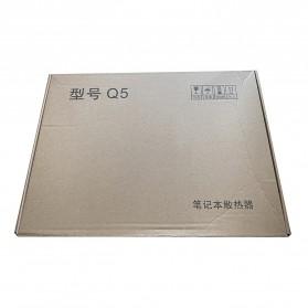 MC Cooling Pad Laptop Radiator Base 1 Fan - Q5 - Black - 12