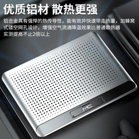 MC Cooling Pad Laptop Radiator Base 1 Fan - Q5 - Black - 7