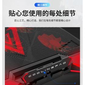 MC Cooling Pad Laptop 5 Fan - Q7 - Black/Blue - 9