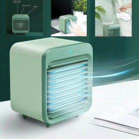 JENNIOEM Kipas Cooler Pendingin Ruangan Mini Air Conditioner AC Arctic - SL08 - Green