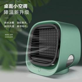 OLOEY Kipas Cooler Pendingin Ruangan Mini Air Conditioner AC Arctic 300ml - M201 - Green