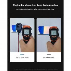 MEMO Smartphone Cooling Fan Kipas Pendingin Radiator Heat Sink USB Type C - DL02 - Blue - 5